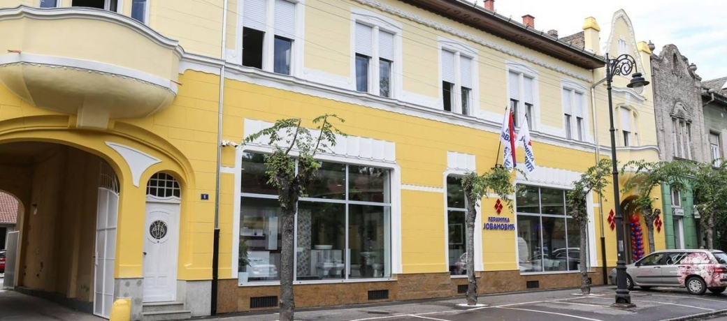 Poslovni objekat Keramika Jovanovic – Subotica